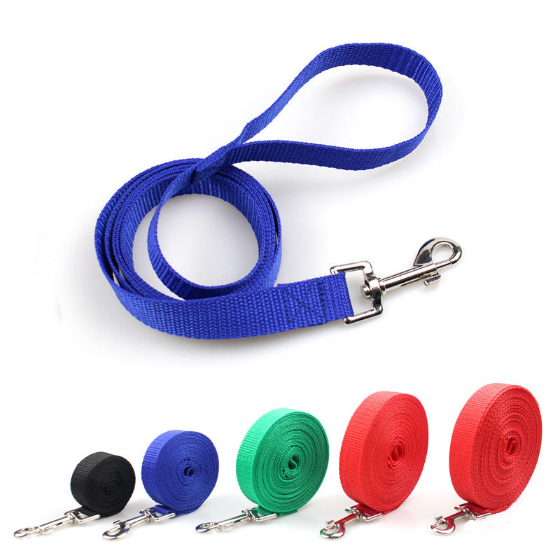 Pet dog leash nylon Leash for dogs 5 Colors 3M 4.5M 6M 10M Walking Training Leash Cats Dogs Harness Collar Leash Strap Belt