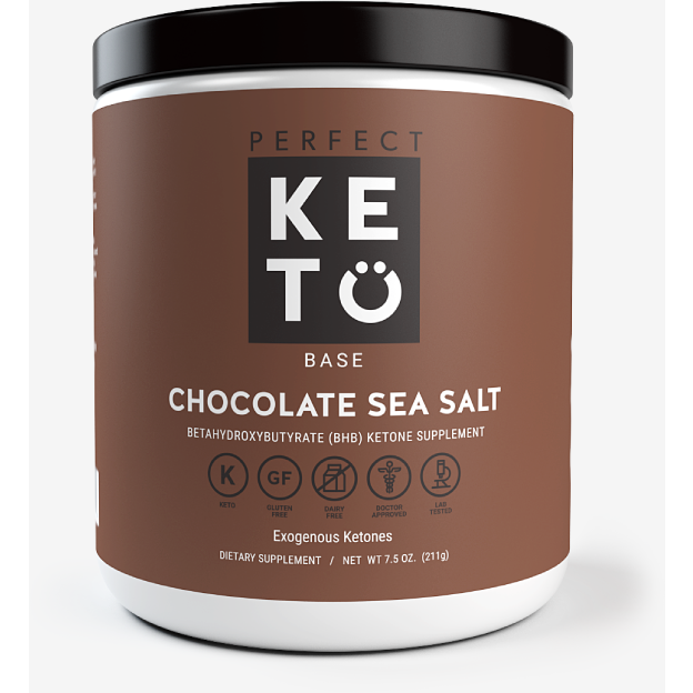 Perfect Keto  BHB Chocolate Sea Salt 192g