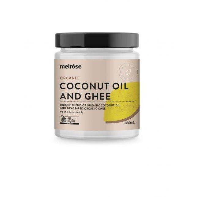 Organic Coconut Oil & Grass Fed Ghee - Melrose