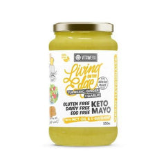 Keto Mayo - Turmeric, Ginger & Garlic - 350ml