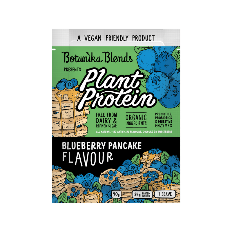 Plant Protein - Blueberry Pancake Flavour - Botanica Blends 500g