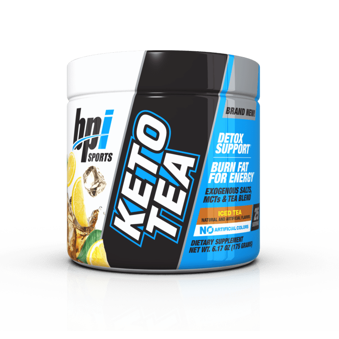 KETO TEA - BHB + MCT + Tea Blend - 25 serves 175g