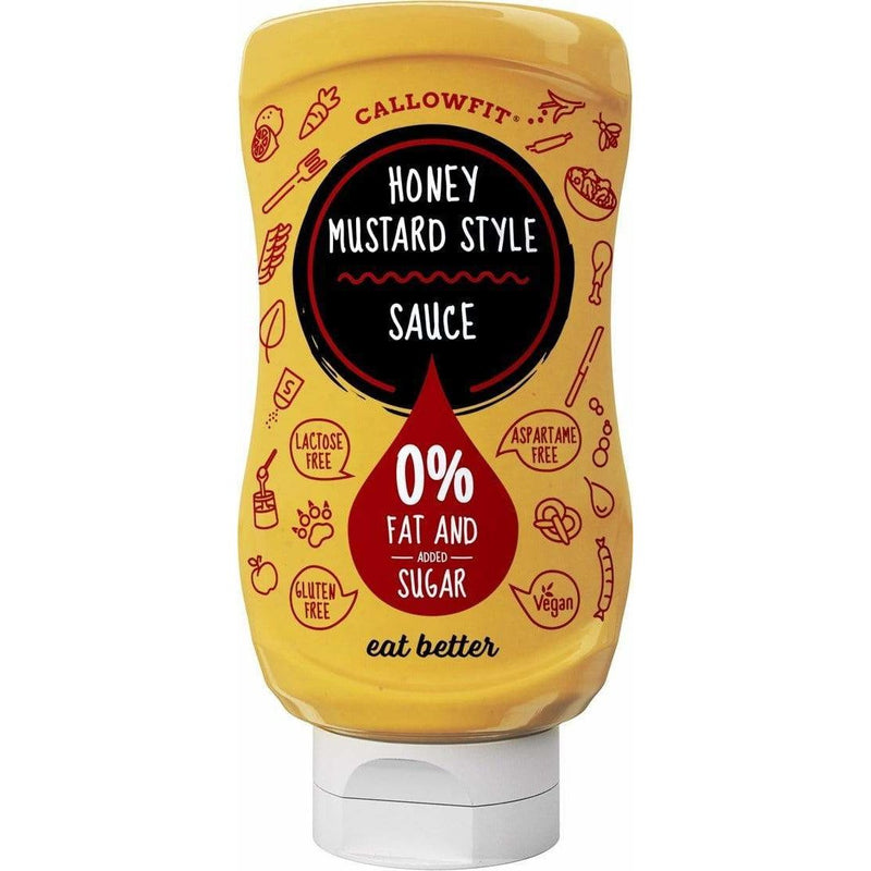 Low Carb Honey Mustard Sauce - Callowfit - 300ml