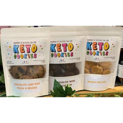 Keto Cookies - Choc Chip Pecan Orange - Lovingly Handmade by Maria -  100g
