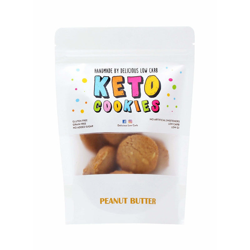 Keto Cookies - Peanut Butter - Lovingly Handmade by Maria -  100g