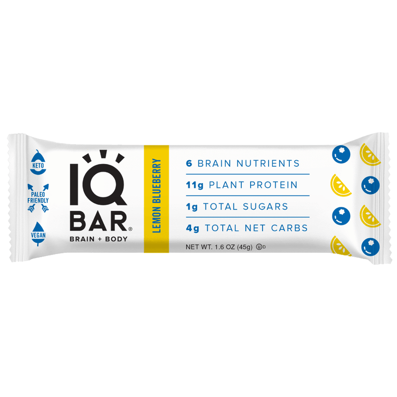 IQ Bar - Lemon Blueberry - 45g