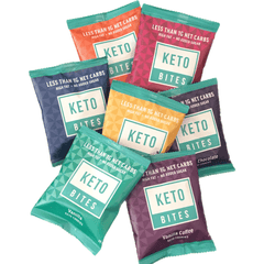 Keto Cookie Bites - 7 Bags of Assorted Cookie Bites - 7 x 25g