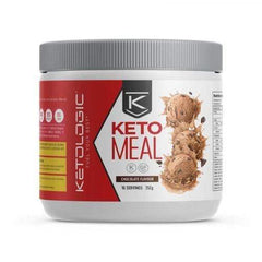 Keto Meal Replacement - Chocolate - Ketologic - 16 Serves  352g