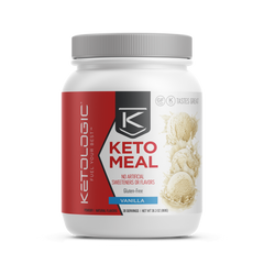 Keto Meal Replacement - Vanilla - Ketologic - 860g