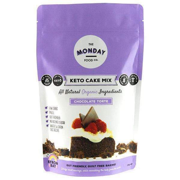Keto Cake Mix - Chocolate Torte - Monday Food Co. 250g