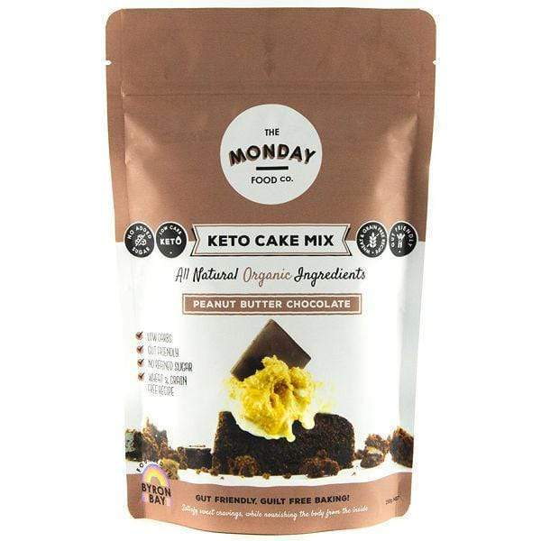 Keto Cake Mix - Peanut Butter Chocolate - Monday Food Co. 250g