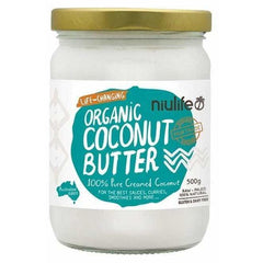 Organic Coconut Butter - 100% Creamed Coconut 500g