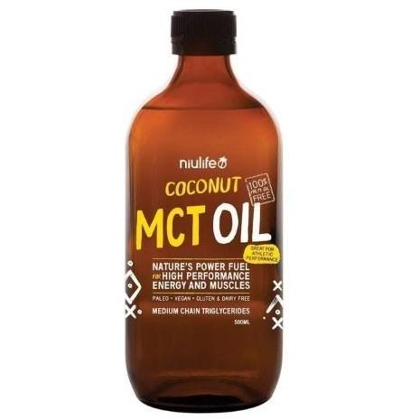 Coconut MCT Oil - Niulife 500ml