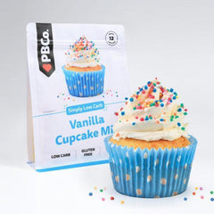 Vanilla Cupcake Mix - PB Co 220g