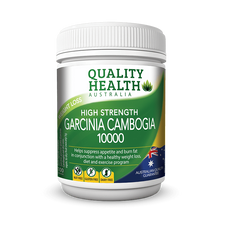 Garcinia Cambogia 10000 - High Strength - Quality Health 100 Caps