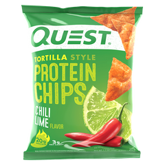 Quest Protein Tortilla Chips  Chili Lime - 32g
