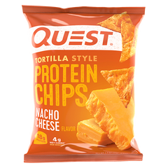 Quest Protein Tortilla Chips  Nacho Cheese - 32g