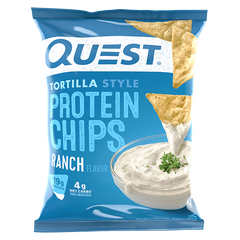Quest Protein Tortilla Chips  Ranch Flavour - 32g