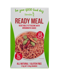 Vegetable Fettuccine with Arrabbiata Sauce - Ready Meal Slendier Slim