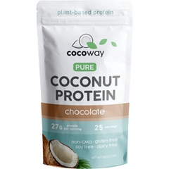Coconut Protein Powder - Chocolate - 1KG - Cocoway