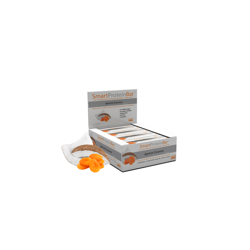 Smart Protein Bar - Apricot Coconut - Box of 12 - 720g