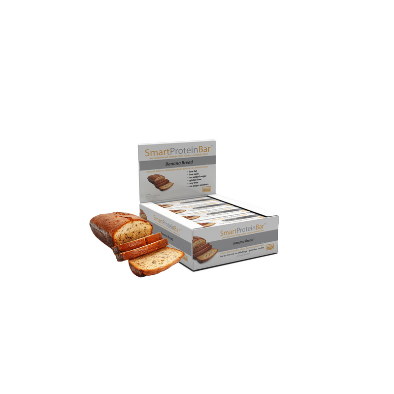 Smart Protein Bar - Banana Bread - Box of 12 - 720g