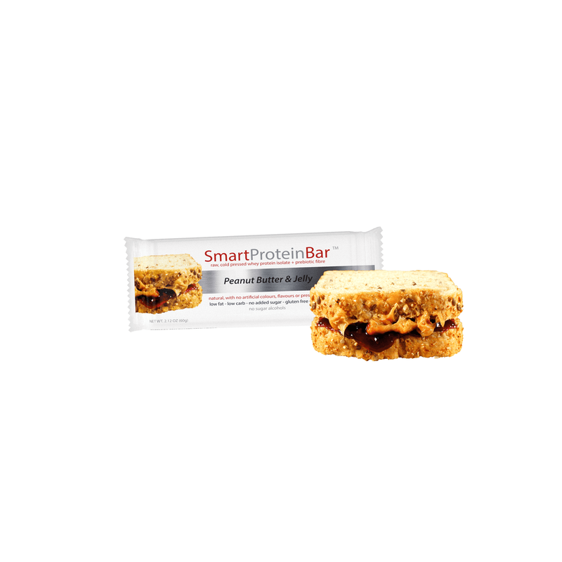 Smart Protein Bar - Peanut Butter & Jelly - box of 12 - 720g
