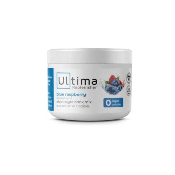 Electrolytes - Ultima Replenisher - Blue Raspberry - 30 Serves 102g
