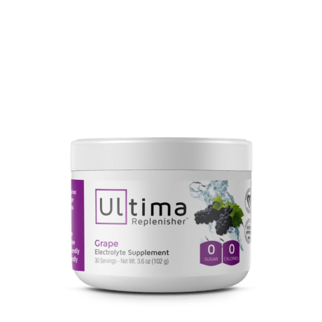 Electrolytes - Ultima Replenisher - Grape - 30 Serves 102g