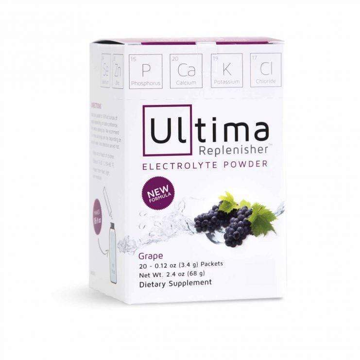 Electrolytes - Ultima Replenisher -  Grape - 20 Sticks - 68g