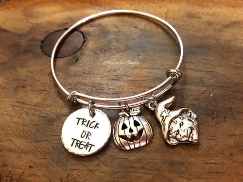 Halloween Charm Bangle-JazzieJ'sJewelry