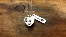 Load image into Gallery viewer, Pet Cremation Urn Necklace-JazzieJ'sJewelry
