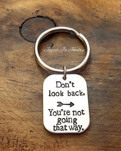 You're Not Going That Way Keychain-JazzieJ'sJewelry