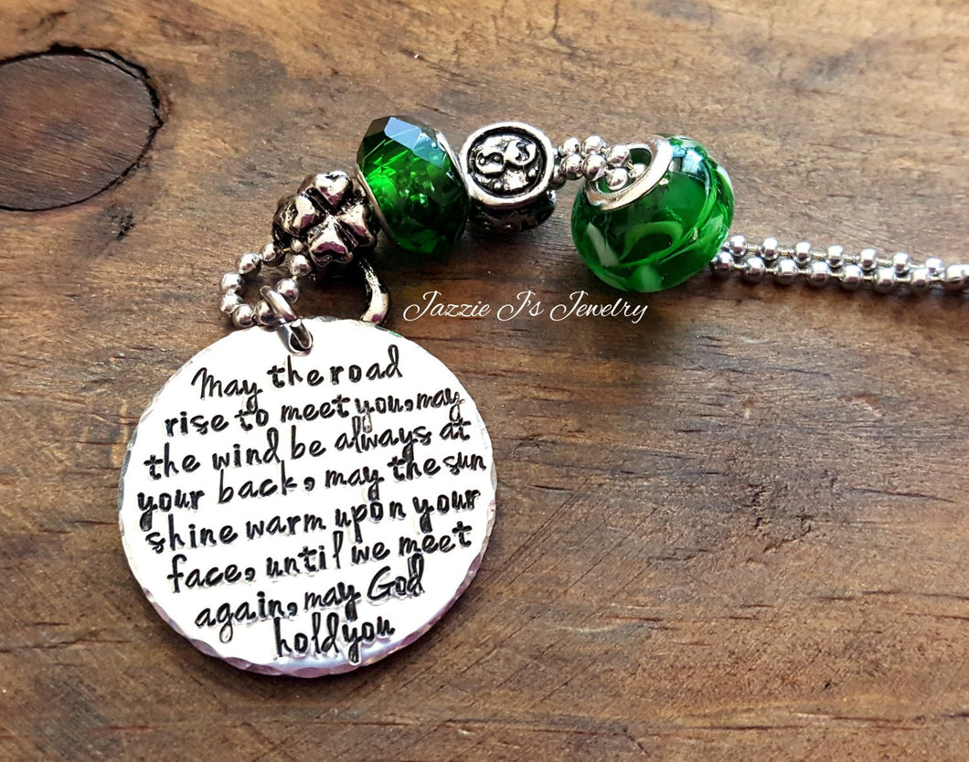Irish Blessing Car Charm-JazzieJ'sJewelry