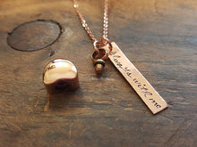 Load image into Gallery viewer, Rose Gold Urn Necklace-JazzieJ'sJewelry