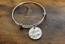 Load image into Gallery viewer, Handwritten Bangle-JazzieJ'sJewelry