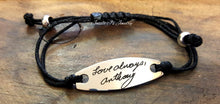 Load image into Gallery viewer, Handwritten Adjustable Bracelet-JazzieJ'sJewelry