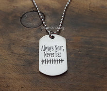 Load image into Gallery viewer, Soundwave Dogtag Necklace-JazzieJ'sJewelry