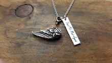 Load image into Gallery viewer, Angel Wing Urn Necklace-JazzieJ'sJewelry