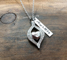 Load image into Gallery viewer, Tear Drop Urn Necklace-JazzieJ'sJewelry