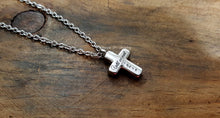 Load image into Gallery viewer, Engraved Cross Urn Necklace-JazzieJ'sJewelry
