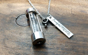 Hourglass Urn Necklace-JazzieJ'sJewelry