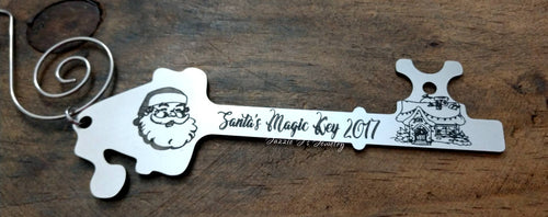 Santa's Magic Key Keepsake-JazzieJ'sJewelry