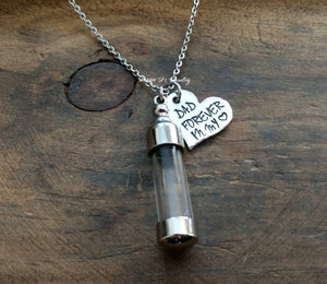 Personalized Glass Urn Necklace-JazzieJ'sJewelry