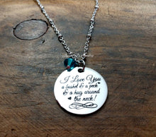 Load image into Gallery viewer, I Love You A Bushel & A Peck Necklace-JazzieJ'sJewelry