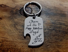 Load image into Gallery viewer, Handwritten Bottle Opener-JazzieJ'sJewelry
