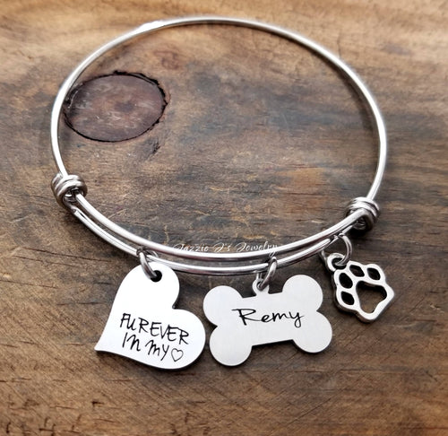 Pet Remembrance Bangle-JazzieJ'sJewelry