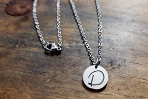 Dainty Handwritten Necklace-JazzieJ'sJewelry