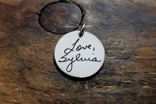 Load image into Gallery viewer, Handwritten Pendant with Jump Ring-JazzieJ'sJewelry