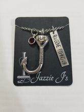 Load image into Gallery viewer, Fish Hook Urn Necklace-JazzieJ'sJewelry